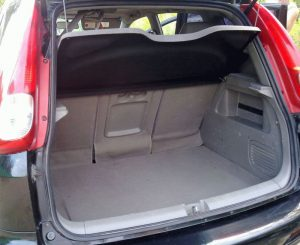 Chevrolet Rezzo багажный отсек
