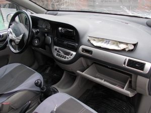 Chevrolet Rezzo интерьер.