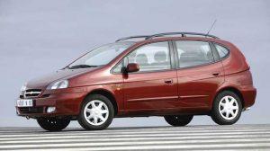 Chevrolet Rezzo вид сбоку
