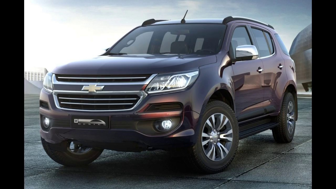Chevrolet Trailblazer II спереди