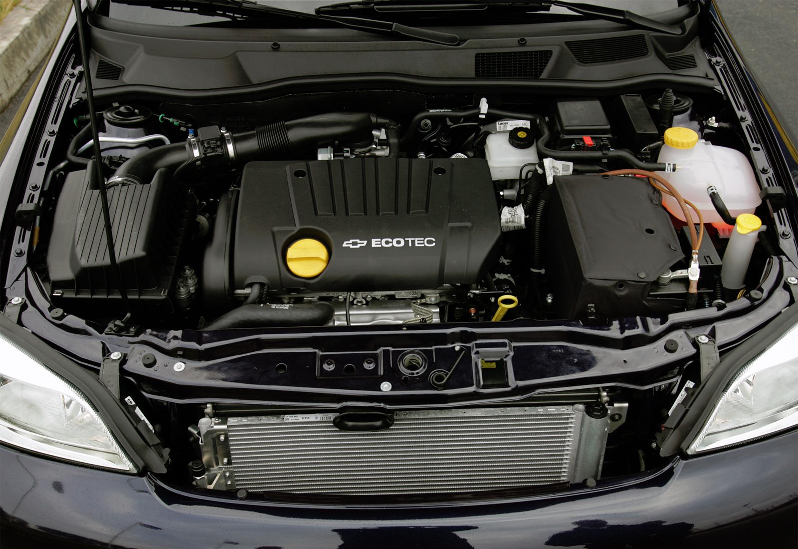 Chevrolet Viva двигатель