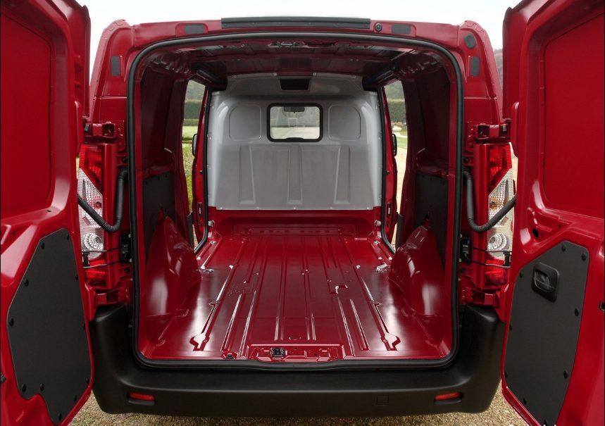 Citroen Jumpy фургон багажник