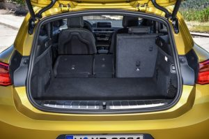 bmw x2 багажник