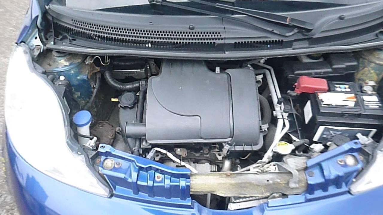citroen c1 двигатель