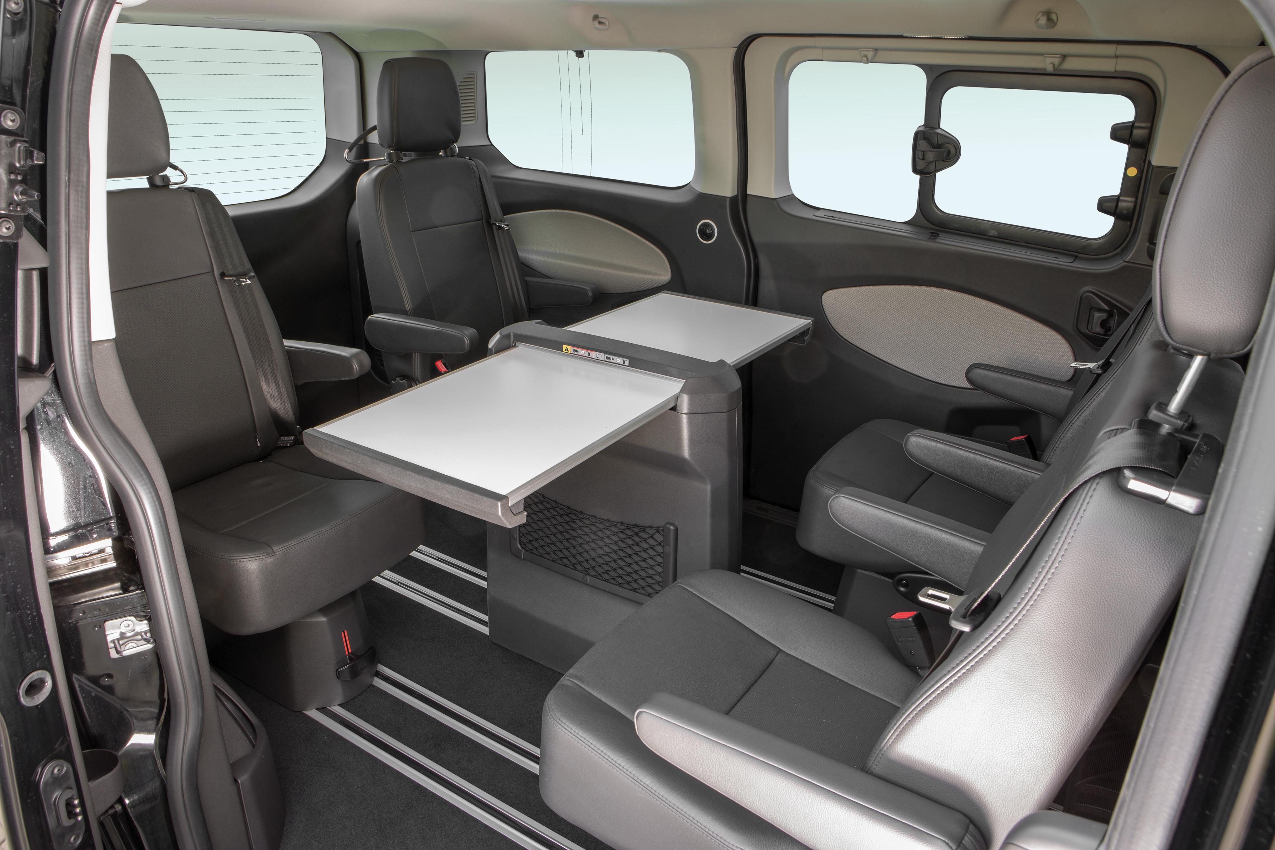 ford transit custom interior
