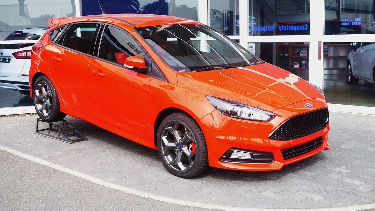 focus st 2015 orange