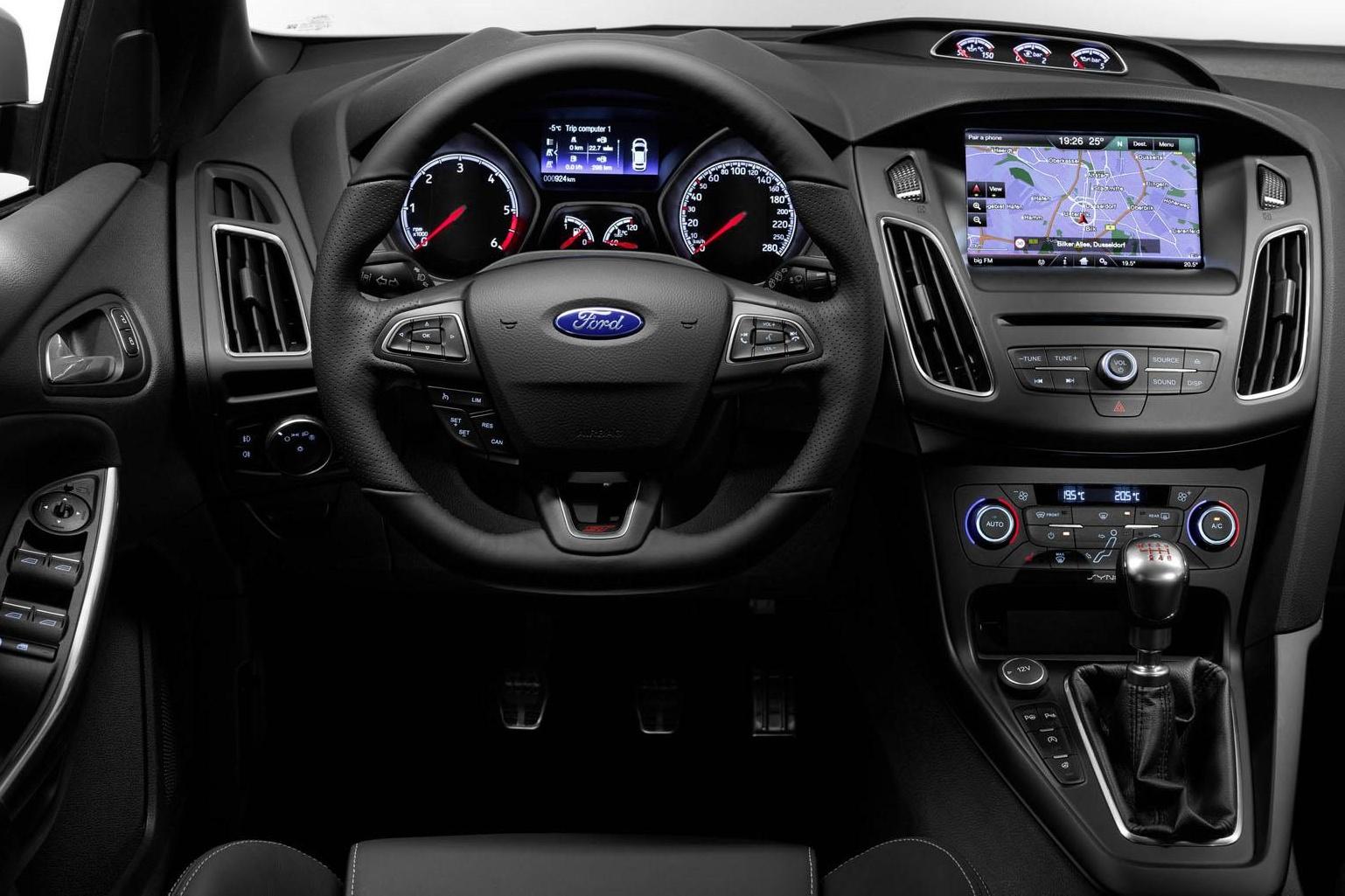 форд фокус панель