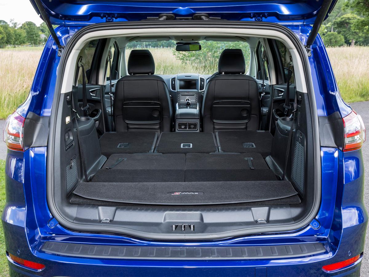ford s-max багажник