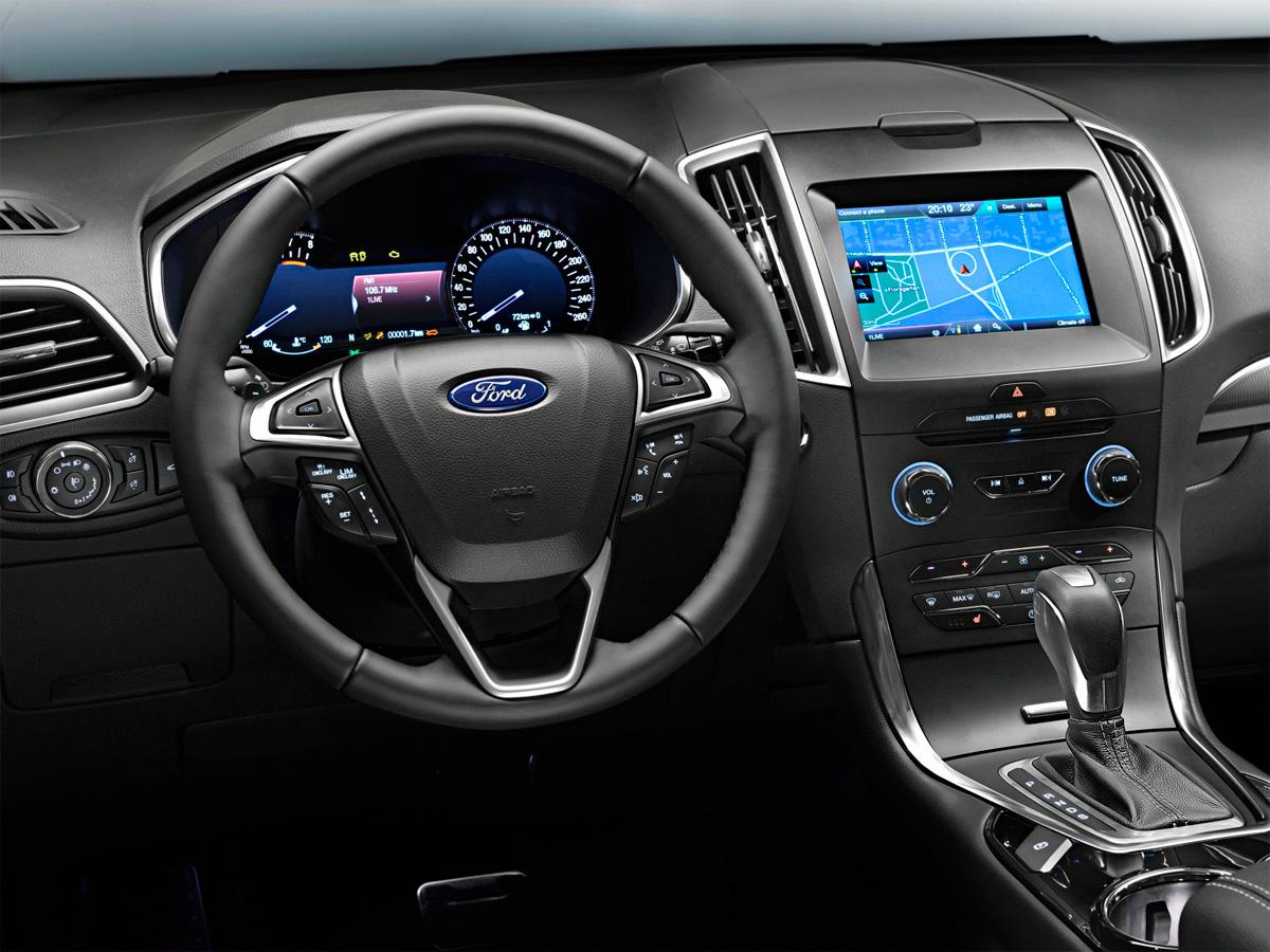 ford s-max панель управления