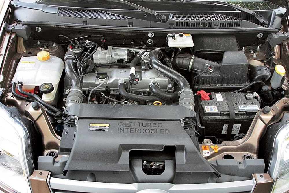 ford tourneo connect двигатель