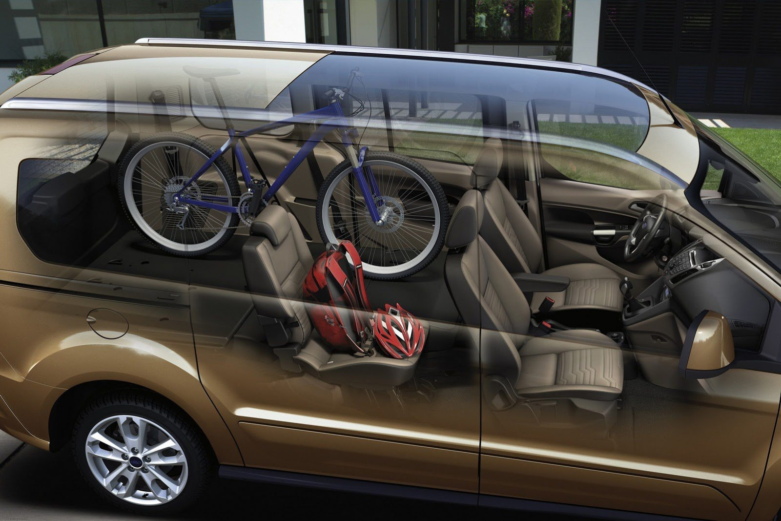 ford tourneo connect салон