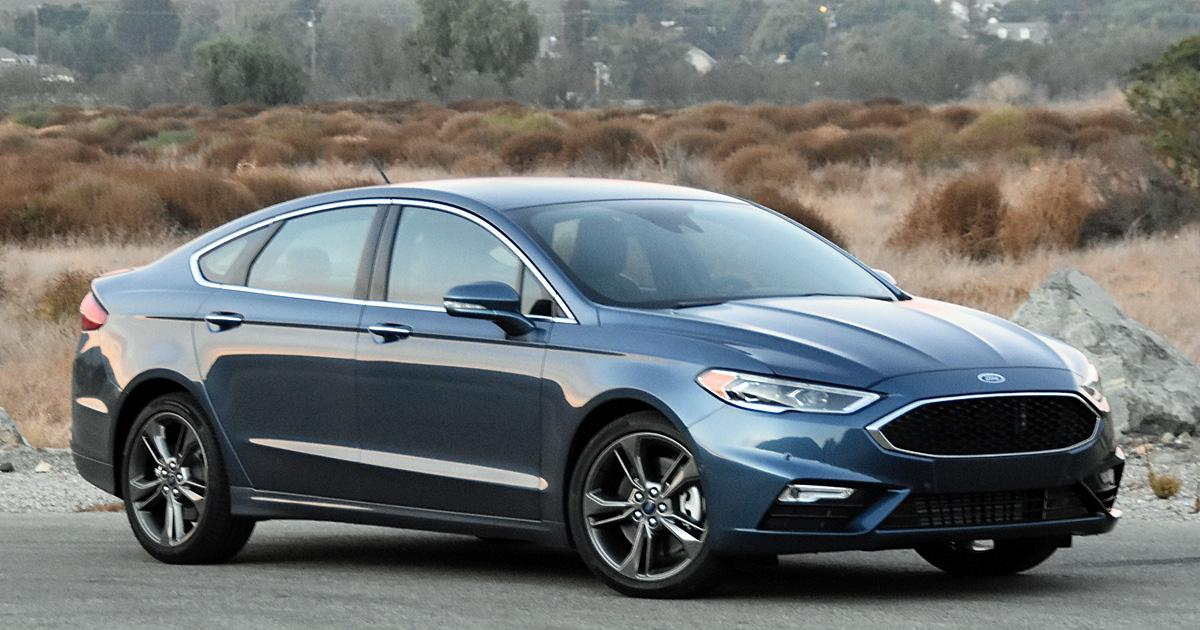 ford fusion blue metallic.