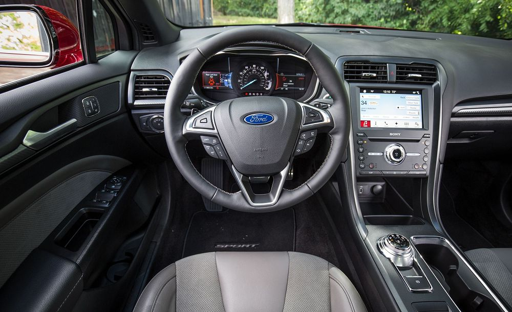 ford fusion панель