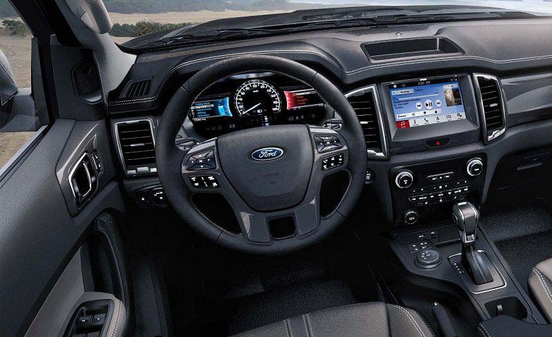 ford ranger панель