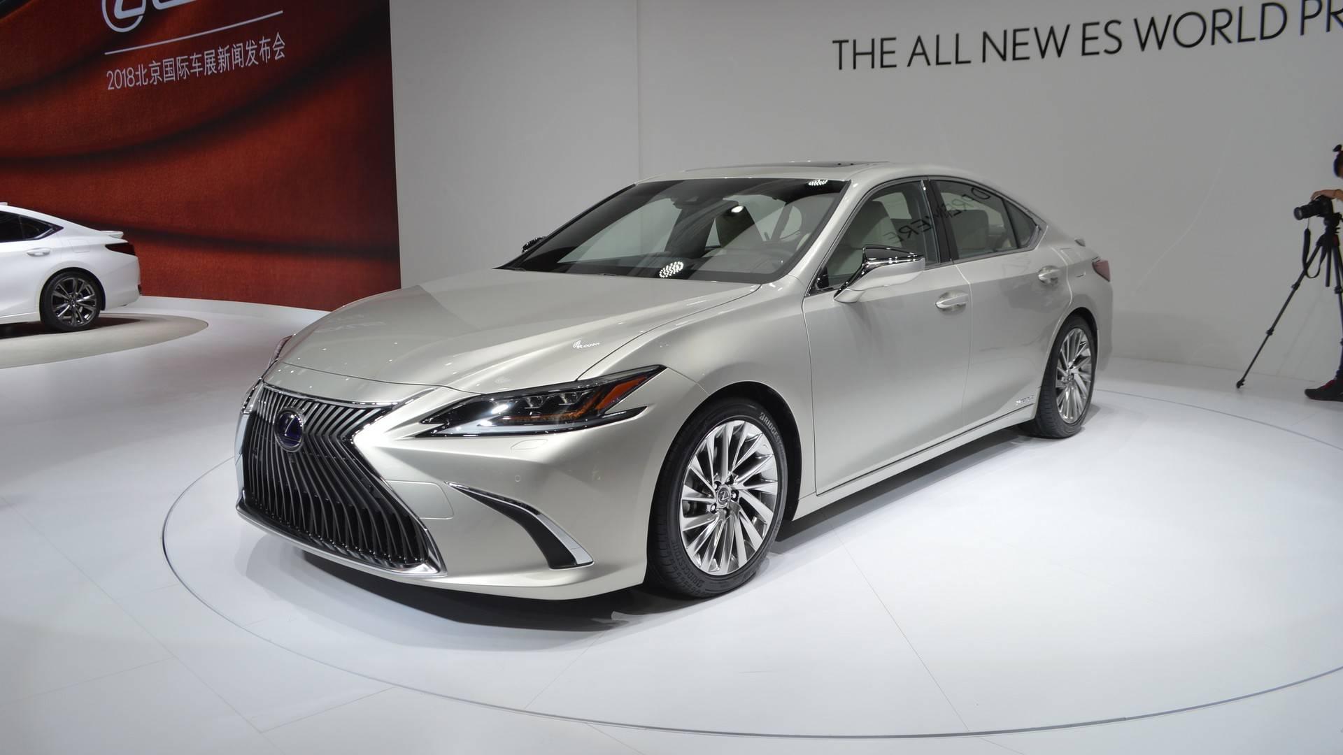 lexus es hybrid 2019