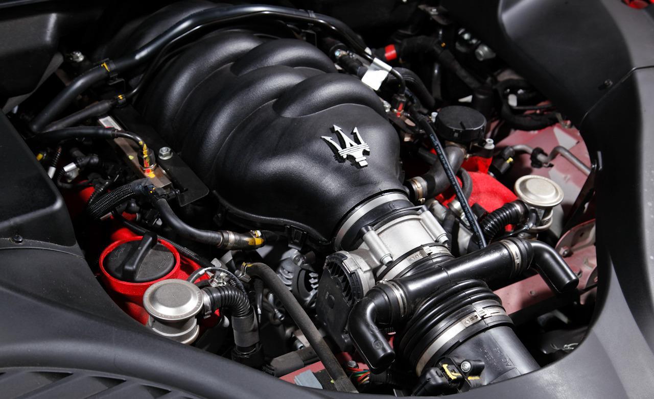 maserati quattroporte мотор