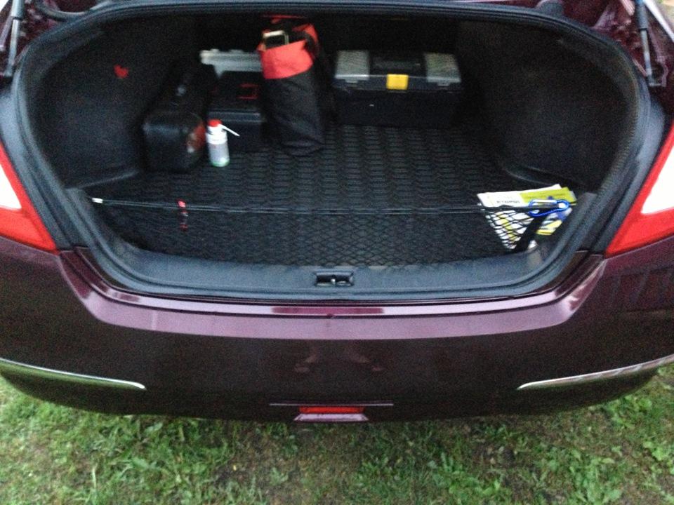 nissan teana багажник.