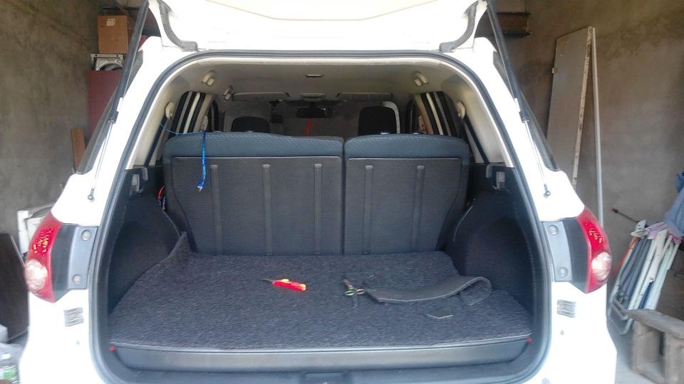 Ниссан Вингроад багажник
