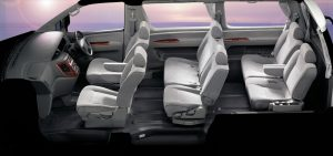 nissan elgrand 8 seater