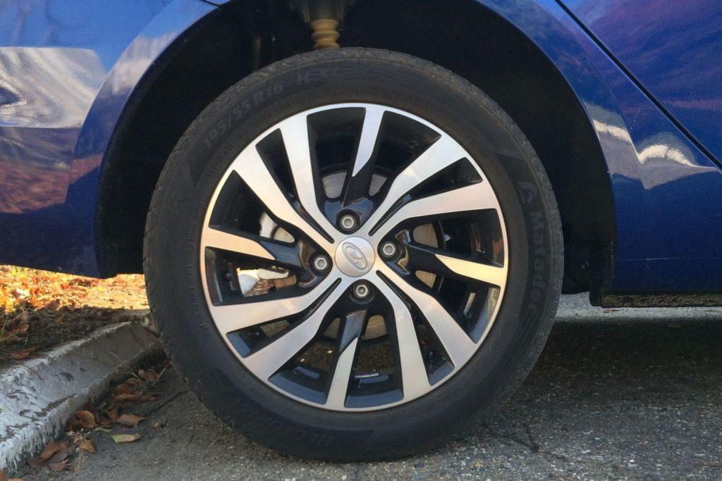 задние дисковые тормоза Весты