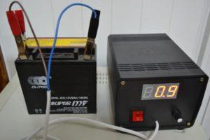 зарядка AКБ постоянным током