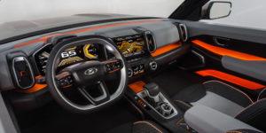 Lada 4x4 Vision 2020 - салон