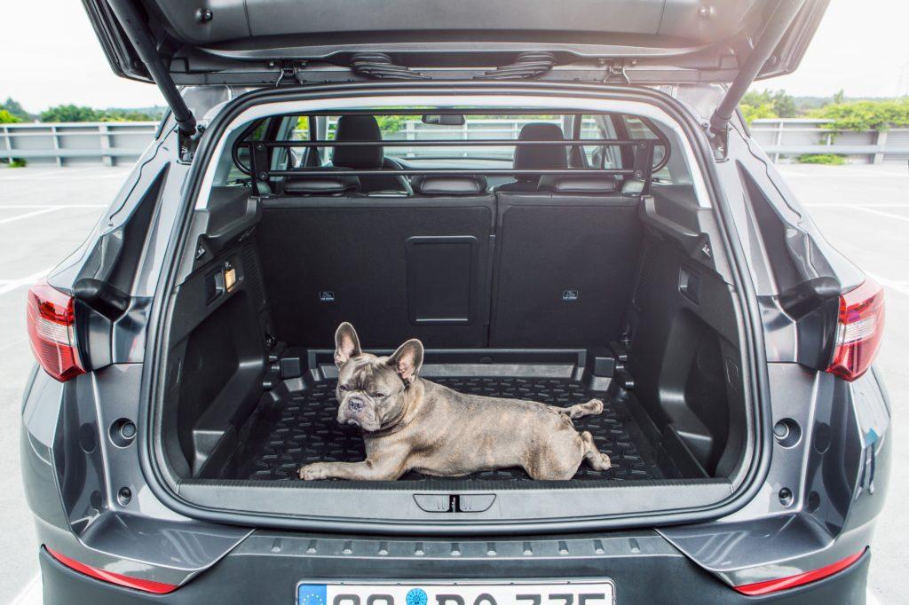 Grandland X Hybrid 4 багажник