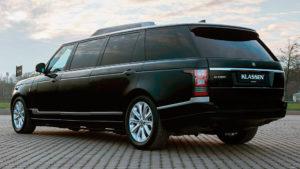 Представили шестиметровый броневик Range Rover за 100 млн рублей