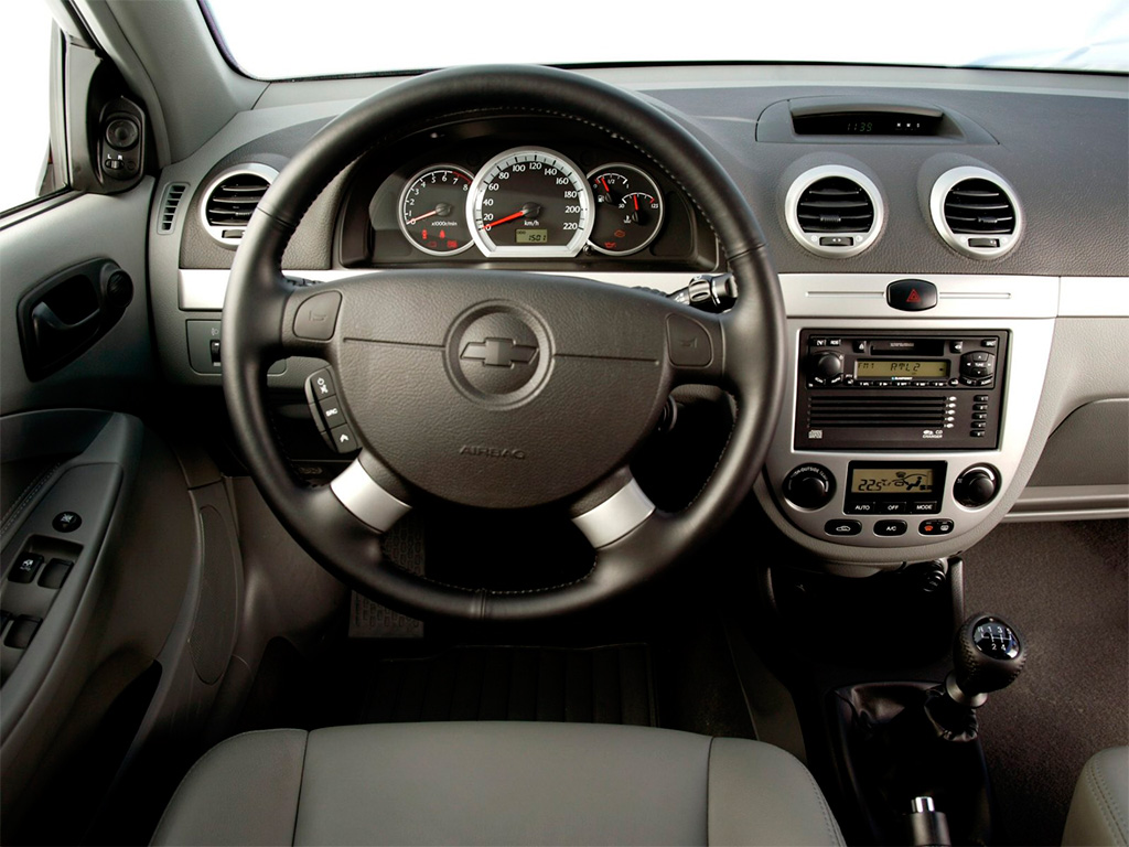Chevrolet Lacetti салон