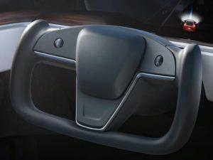 редизайн электрокара Model S