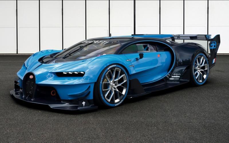 Фото Bugatti Vision Gran Turismo