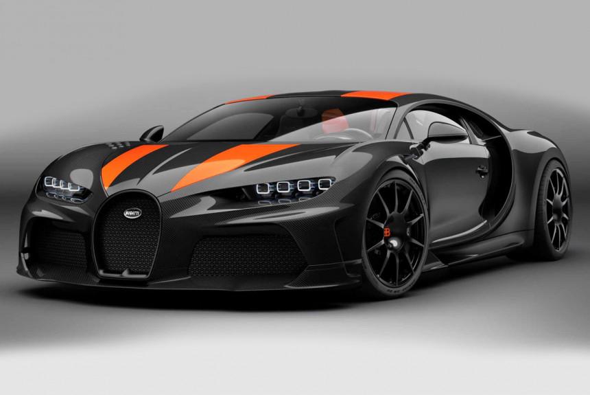 Рекордный Bugatti Chiron Super Sport станет серийным, но есть оговорка