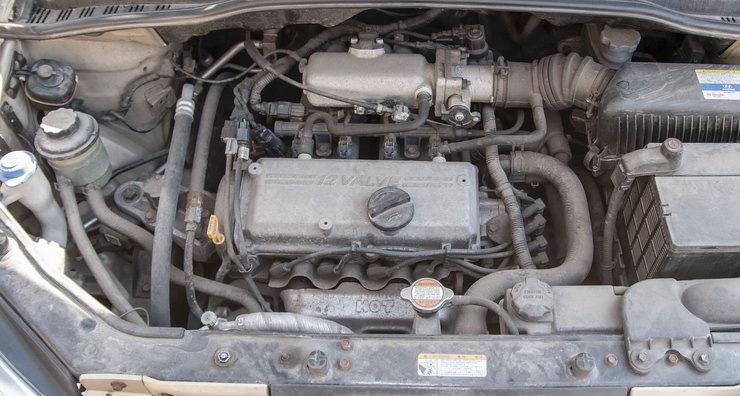 Двигатель Хендай Гетц технические характеристики. объем и мощность двигателя.