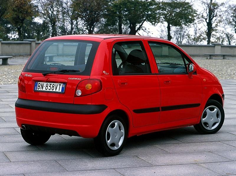 Daewoo Matiz автомобиль
