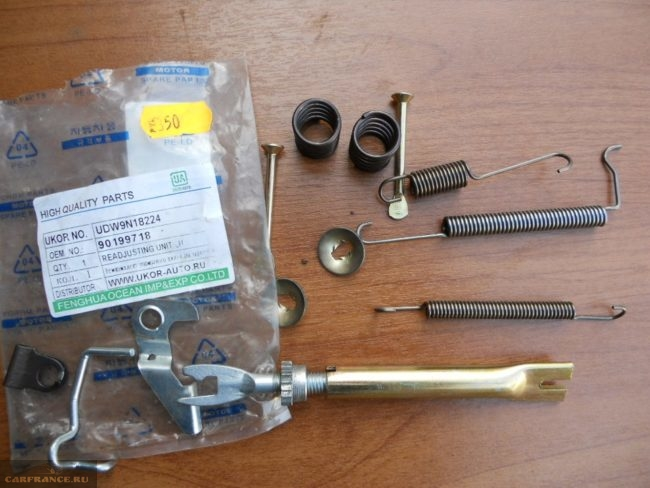 Ремонтный комплект для заднего тормозного механизма Дэу Нексия