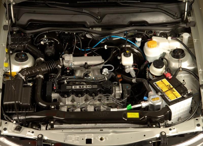 Daewoo Nexia II двигатель